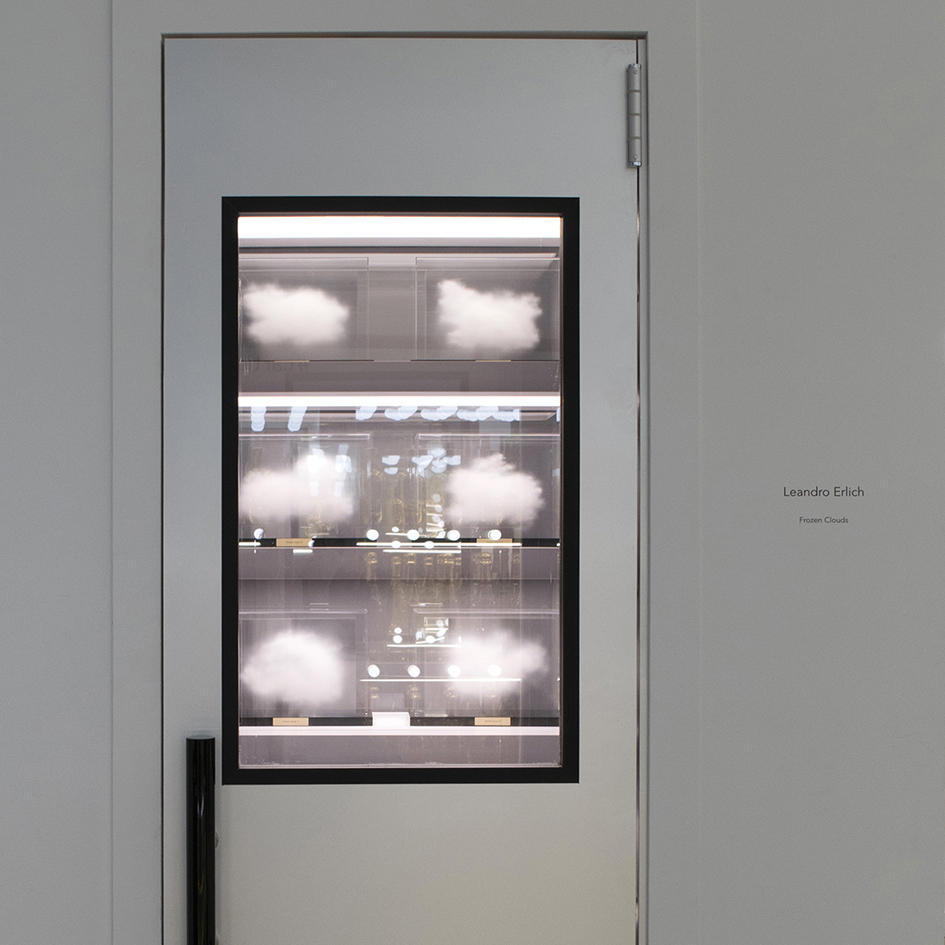 Frozen Clouds ( Installation view at Cartier pop up store, in 2018)