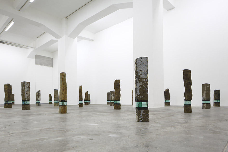 The installation view of Basalt.