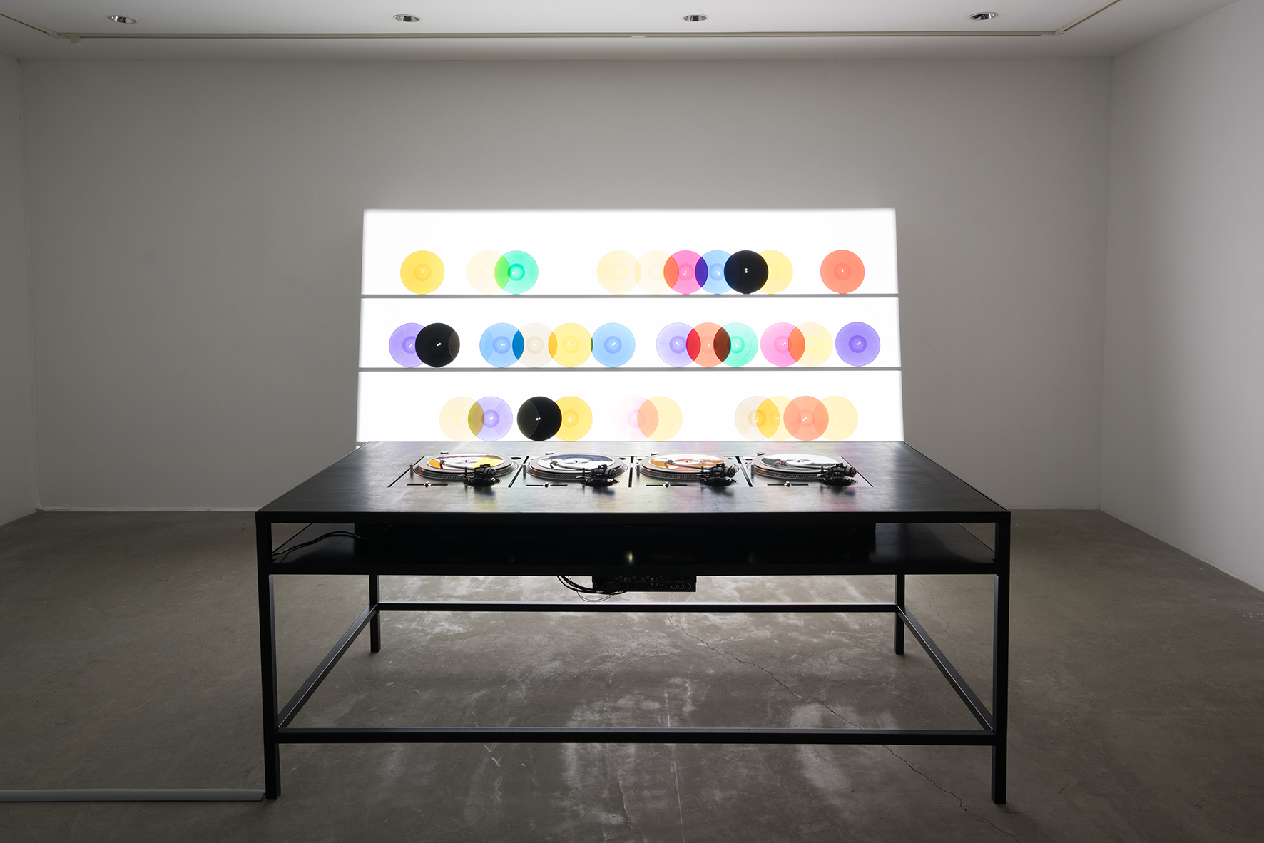 bausatz noto ∞ - color vinyl display, 1998/2015